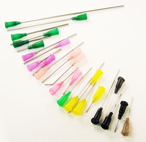 Blunt needles from 30g to 12 gauge, half inch to 5 inches